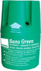 SANO GREEN DETERGENT SI ODORIZANT SOLID BAZIN WC 150 GRAME