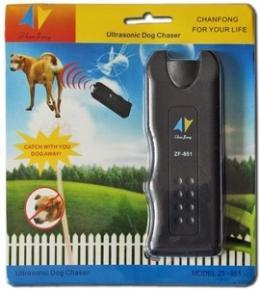 DOG CHASER Aparat cu ultrasunete pentru alungat caini