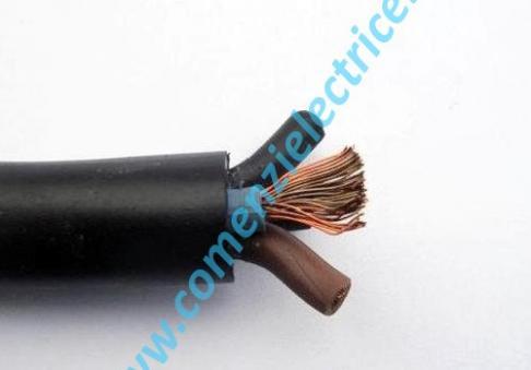 MCCG 5x6 Cablu din cupru flexibil cu manta de cauciuc reticulat