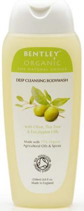 Gel de duş cu măsline pentru curăţare profundă