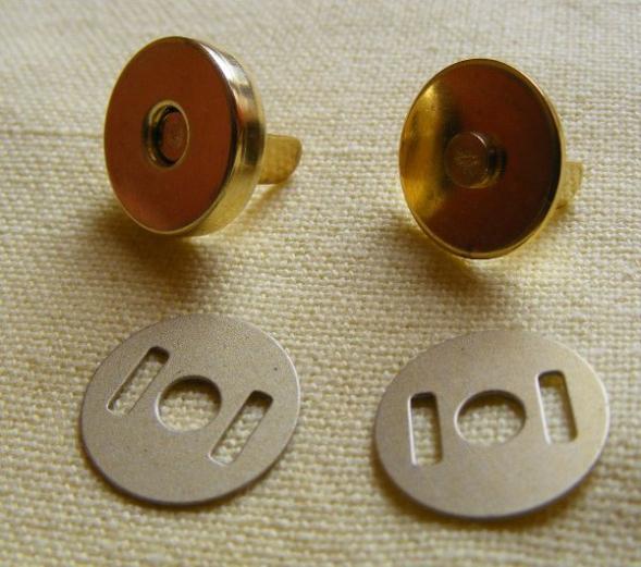 Capse magnetice - 18mm - antic