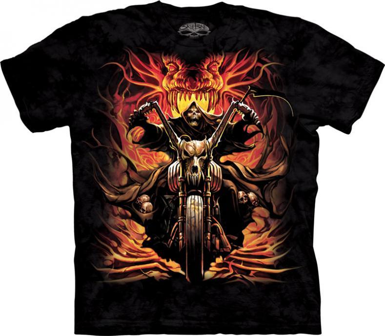 Tricou Death & Motorbike