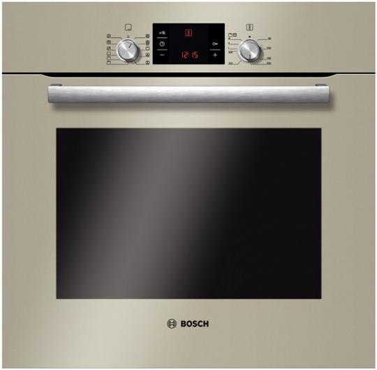 Cuptor incorporabil electric  Bosch HBG73B530, 8 functii, clasa A, Quartz Collection