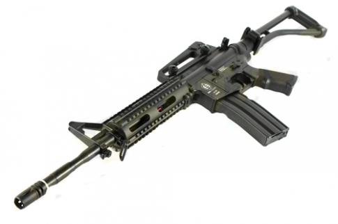 M4 RAS - METAL VERSION - FOLDING - BLACK