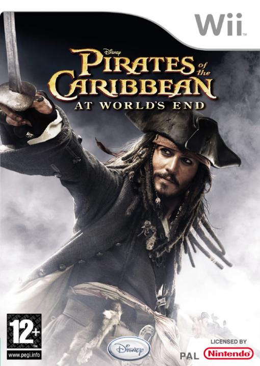 JOC Wii Pirates of the Caribbean: At World's End, Buena Vista, BVG-WI-PIRATES3