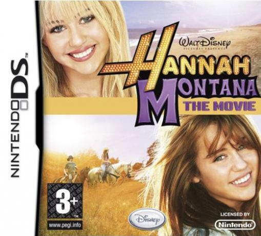 JOC Nintendo DS Hannah Montana the Movie, Buena Vista, BVG-DS-HMTM