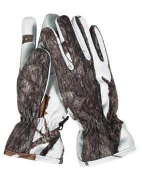 Manusi Vanatoare Camuflaj Snow Wildtree
