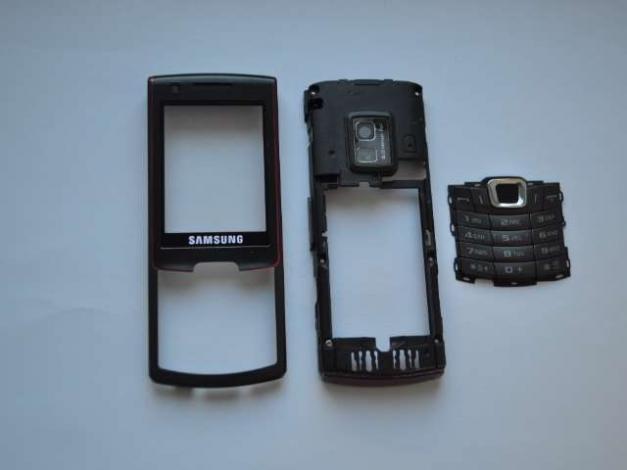 Carcasa Originala Samsung S7220 3 Piese Swap - Neagra