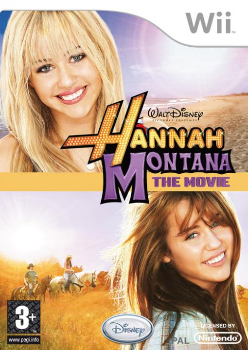 JOC Wii HANNAH MONTANA THE MOVIE, Buena Vista, BVG-WI-HMTM