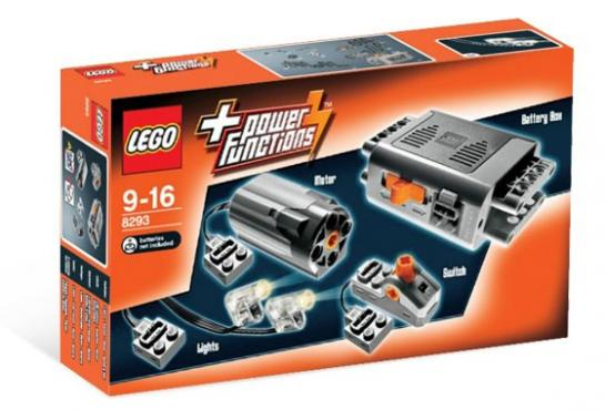 Set motor power functions   Lego Power Function