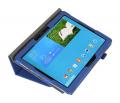 Husa pt. Samsung Galaxy Note PRO & Tab PRO 12.2 - Piele, Wake/Sleep - Albastra