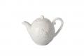 """Ceainic alb din ceramica """"Hen"""""""