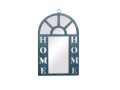 "Oglinda de perete vintage cu suport din metal ""Home"""