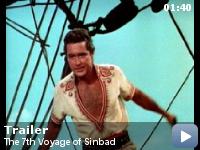 Trailer A saptea calatorie a lui Sinbad