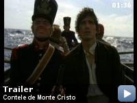 Trailer Contele de Monte Cristo