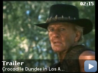 Trailer Crocodile Dundee in Los Angeles
