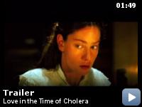 Trailer Dragostea in vremea holerei