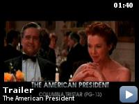 Trailer Dragostea unui presedinte american