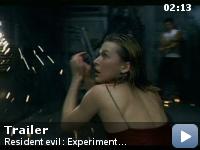 Trailer Resident Evil: Experiment Fatal