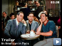 Trailer Un american la Paris