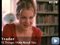 Trailer Zece lucruri nu-mi plac la tine